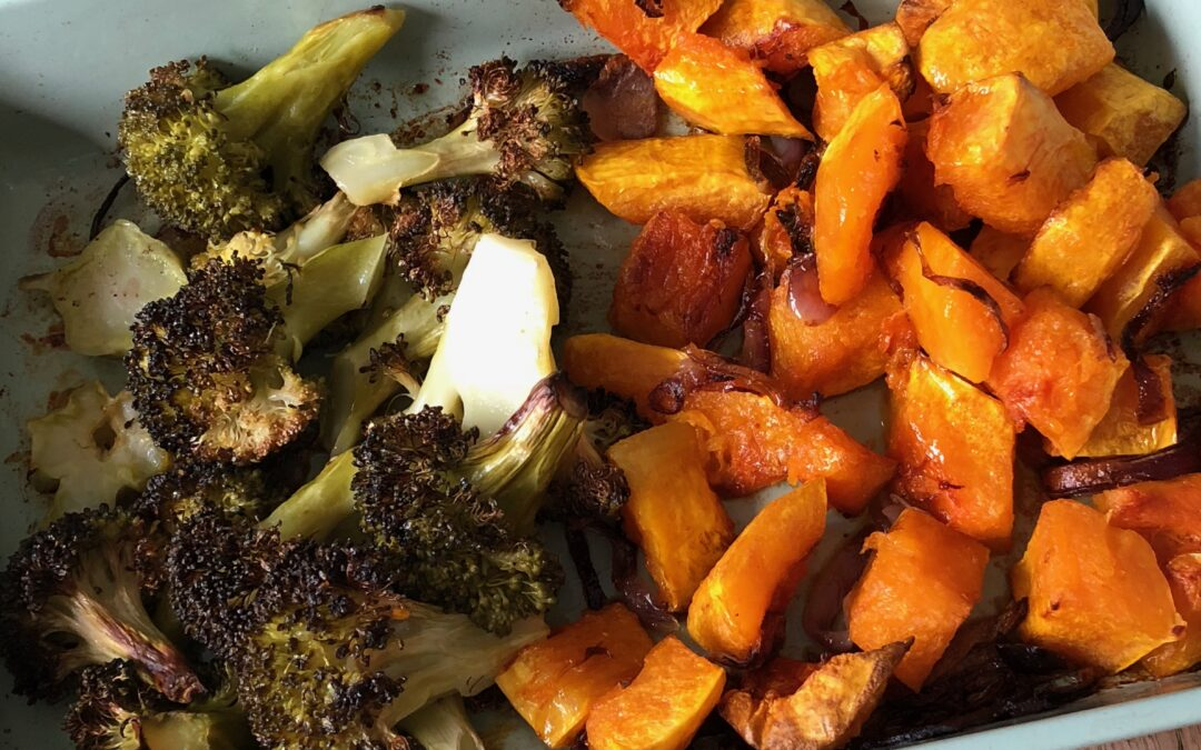 Roasted Vegetables: a simple technique (rather than a recipe) to achieve deliciously tasting vegetables
